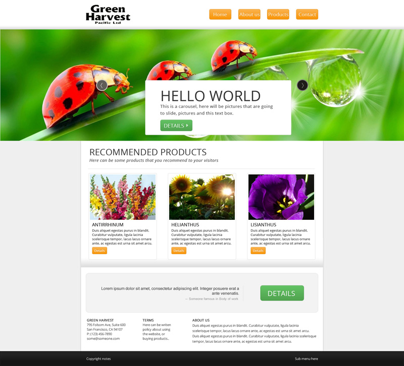 Green Harvest Web Design