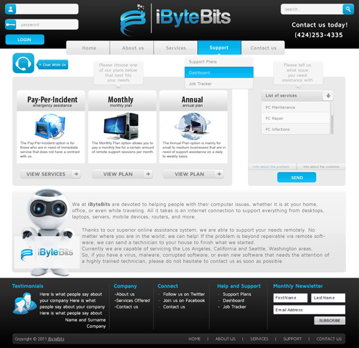 iByteBits Web Design